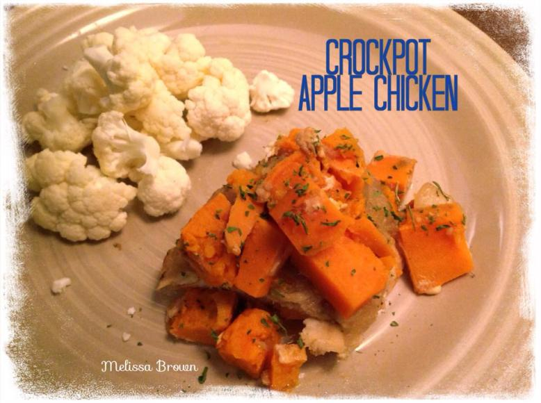 crockpot recipe, crockpot meal, crockpot apple chicken