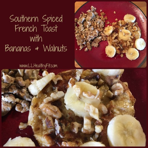Southern Spiced French Toast with Bananas and Walnuts Picture