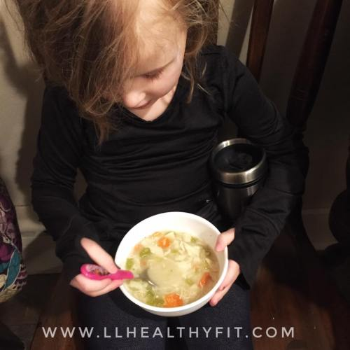 fixate, 21 day fix approved, chicken noodle soup