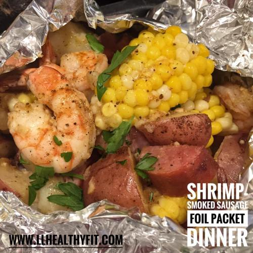 Shrimp-Smoked Sausage Foil Packet-7