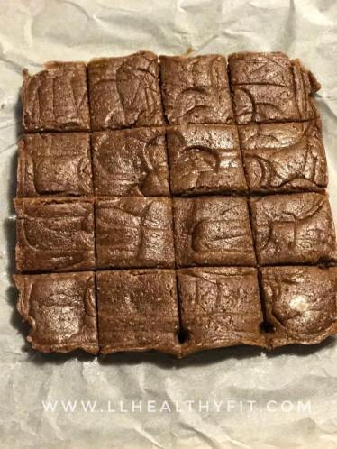No Bake Protein Squares 2