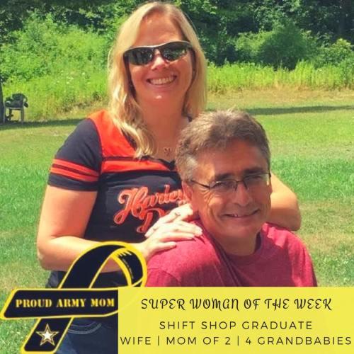 super woman, army mom, grandparent, shift shop